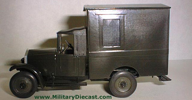 Military diecast for Amo manufacturing spain